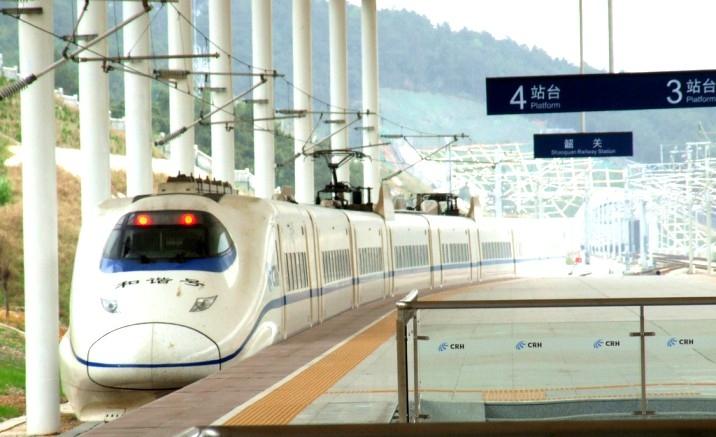 Lanzhou to Shanghai train