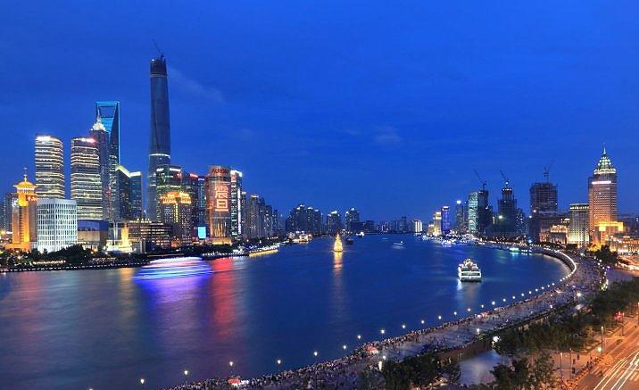 nouvelle plate-forme pour admirer les belles vues du fleuve Huangpu