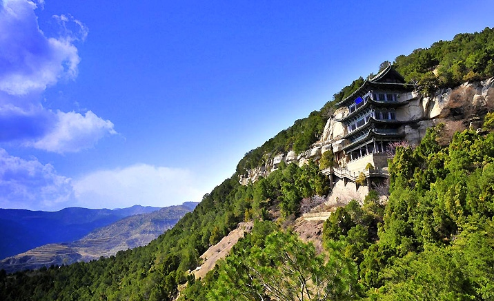 Province du Shanxi : Grottes de Tianlongshan