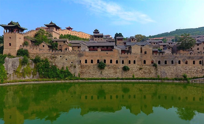 La citadelle de Xiangyu de Shanxi
