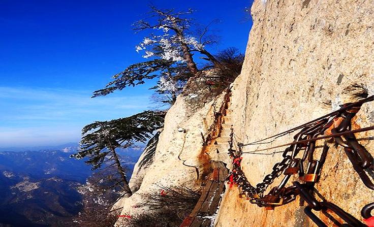 Aux Monts Huashan