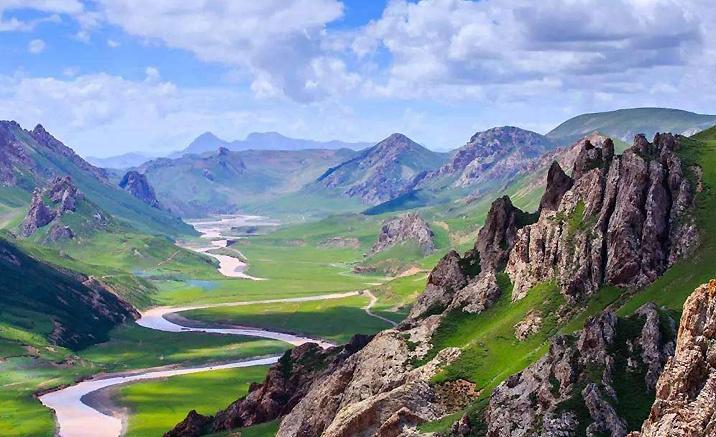 Sanjiangyuan de la province du Qinghai