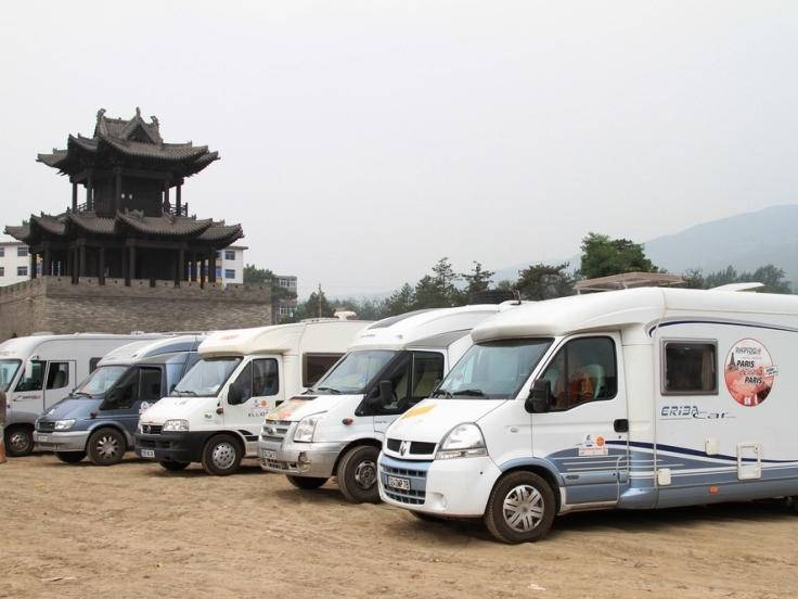 China Ancient Capitals Camper Tour