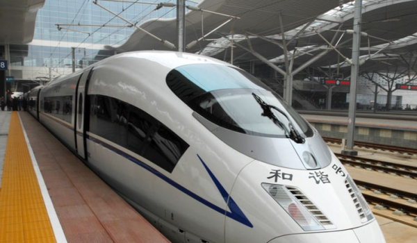 China Bullet Train Tour