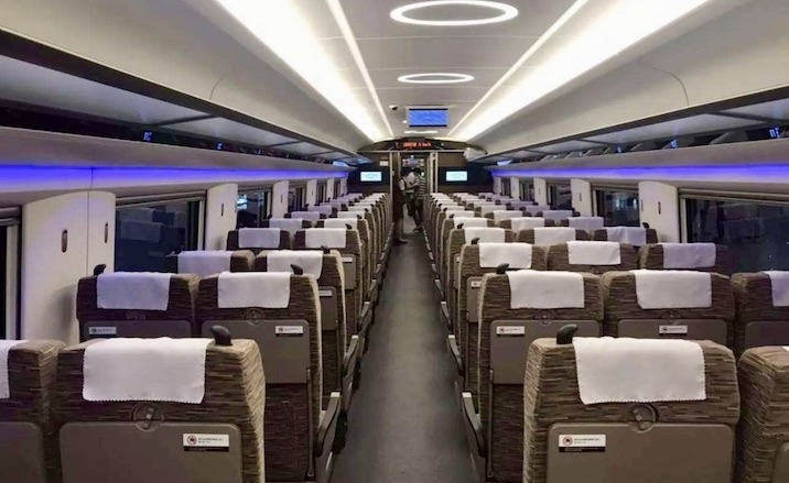 High-speed train to link Beijing and Hangzhou in 4 hours