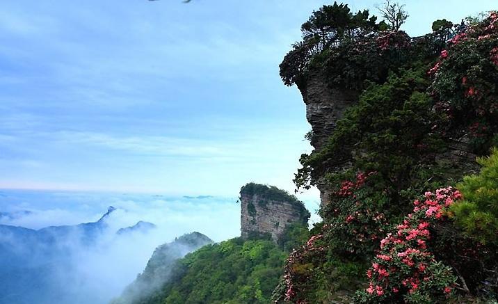 Géoparc Guangwushan - Nuoshuihe, province du Sichuan