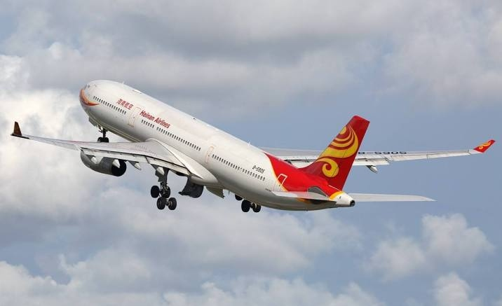 Hainan Airlines opened China's first direct flight to Ireland