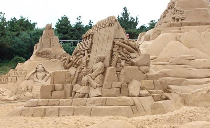 International Sand Sculpture Festival, Zhoushan City