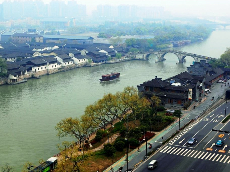 Grand Canal Tour and DIY Chinese Handiworks