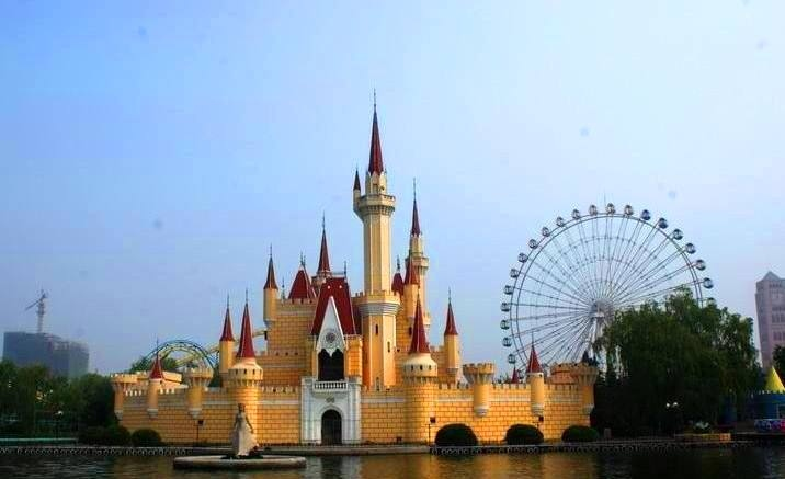 Beijing Shijingshan Amusement Park holds summer carnival