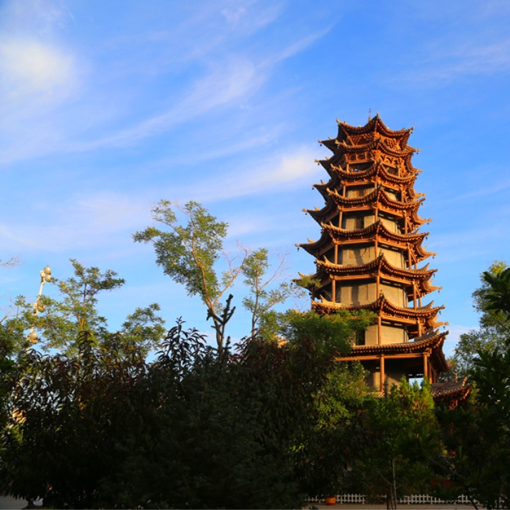 Wooden Pagoda Temple