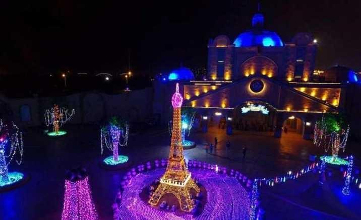 2018 Million Lights Festival opened in Tianjin