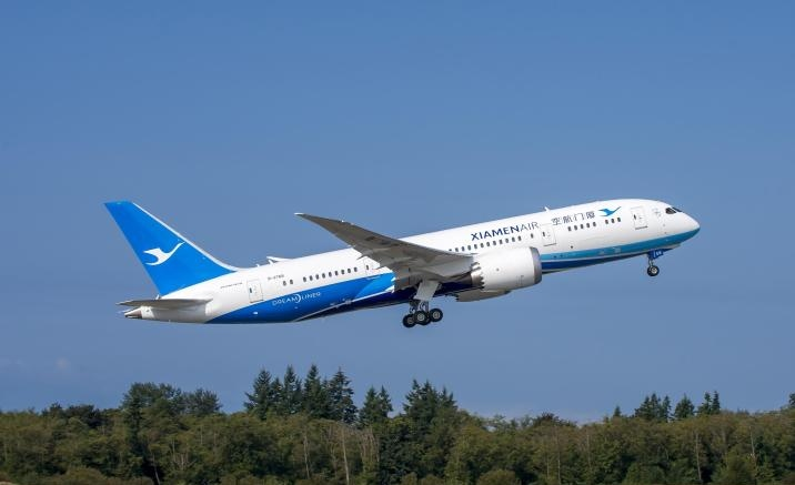 New direct flight to link Fuzhou City and Paris