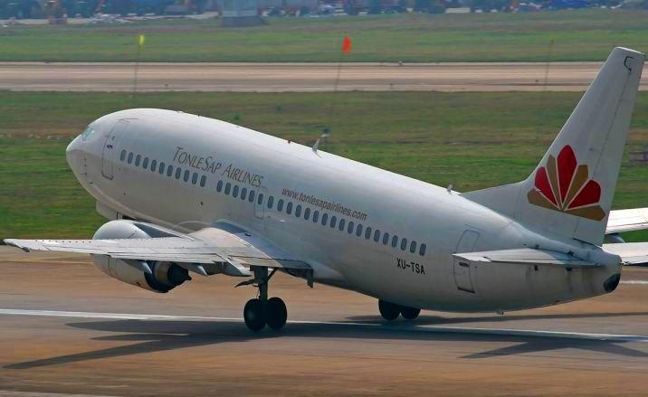 Direct flight links China and Cambodia
