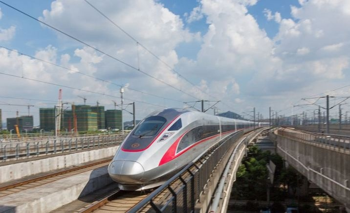 Hong Kong section of the high-speed train opened