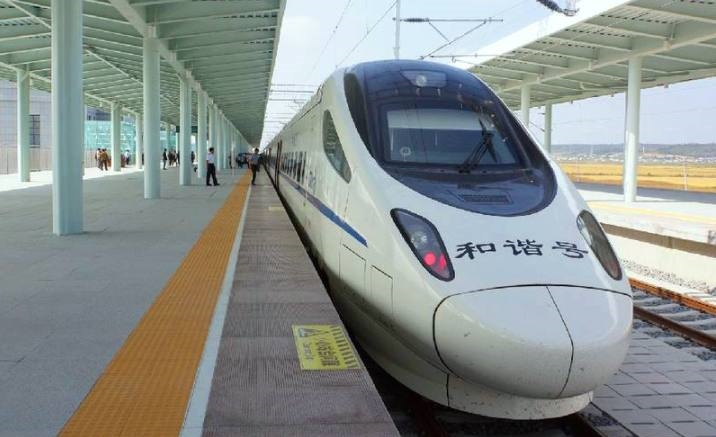 The first 350 km/h self-driving Fuxing train to open in 2022