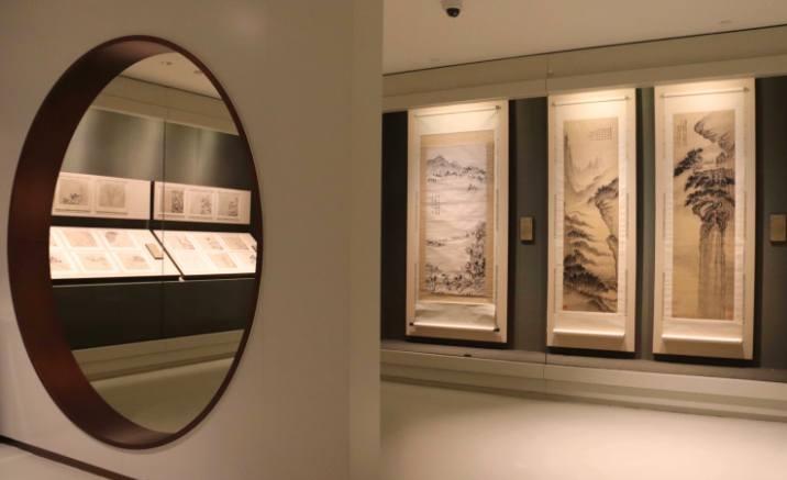 Shanghai Suning Art Museum opens ink art exhibition