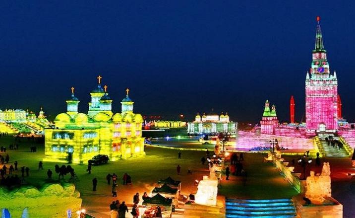 L'Ouverture du Monde de Neige à Harbin