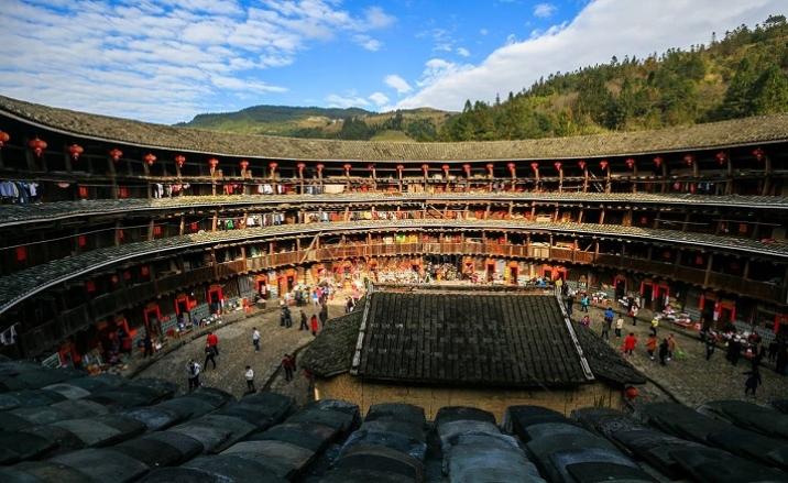 Tulou - Marque Unique de la Province du Fujian