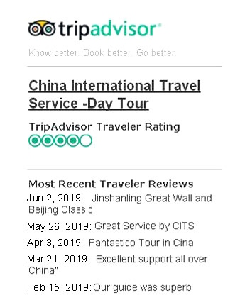 CITS - China International Travel Service, China Travel