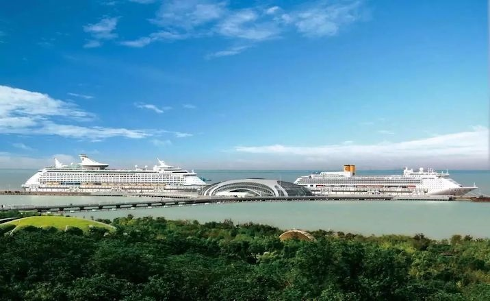 China's first tax-free store at cruise arrivals is about to open in Shanghai