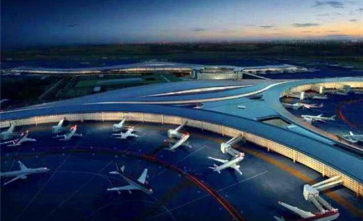 Chengdu Tianfu International Airport terminal takes shape