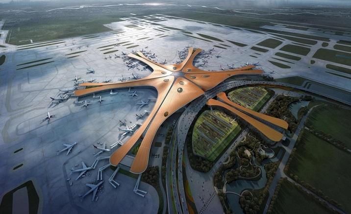Gu'an City Terminal of Beijing Daxing International Airport opens