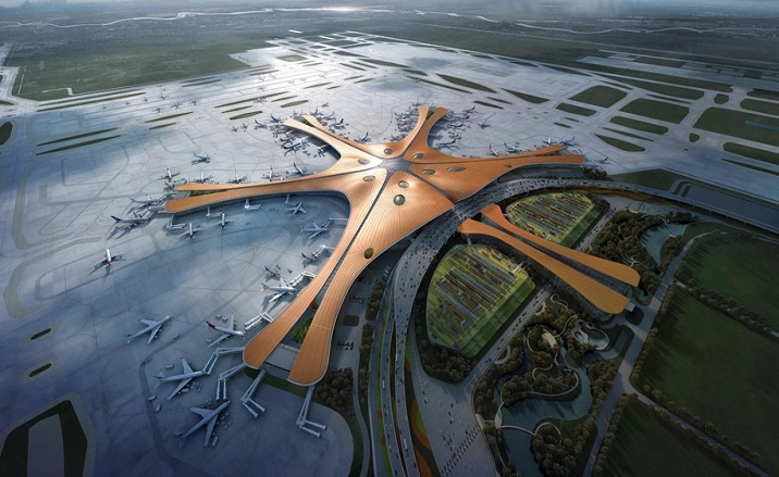 Gu'an City Terminal of Beijing Daxing International Airport opens