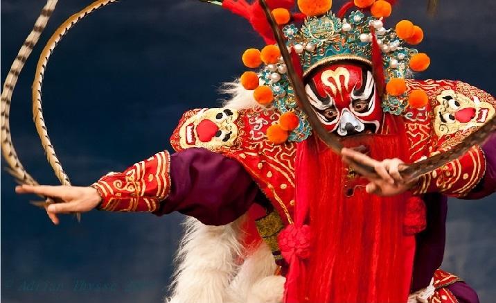 Beijing's Star Theater opens the Peking Opera exhibition