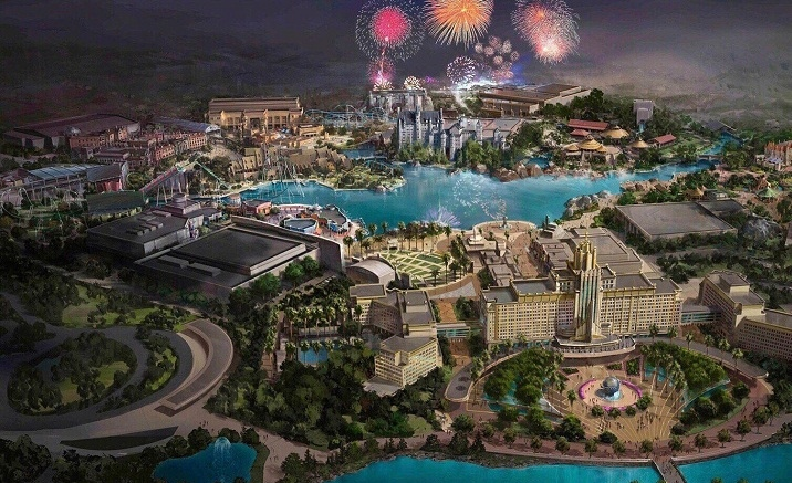 Universal Beijing Resort is expected to open in May 2021