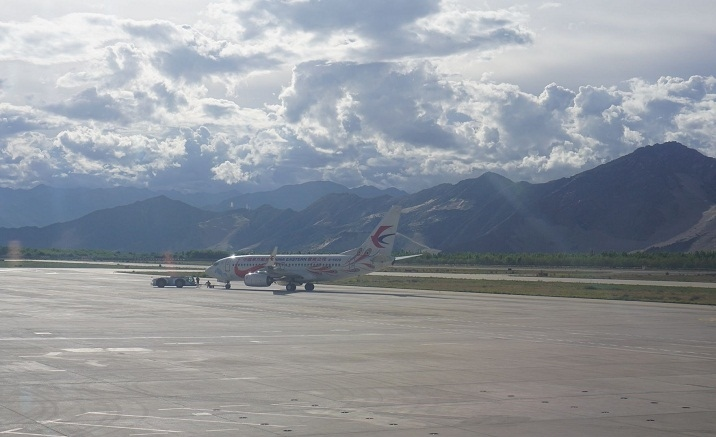 Expansion work of Lhasa Gongga International Airport resumes