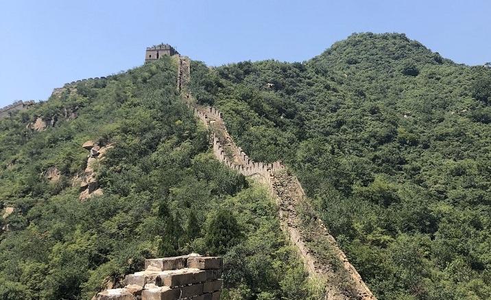 Renovation work on Jiankou Great Wall starts