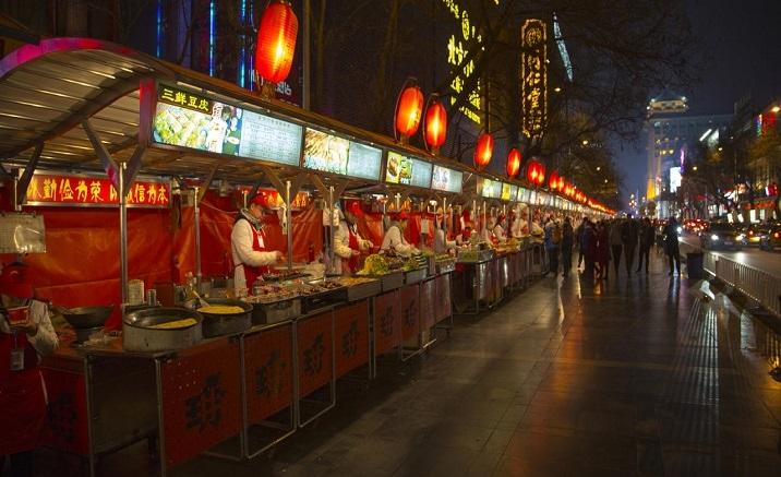 Beijing Daliushu Night Market reopens