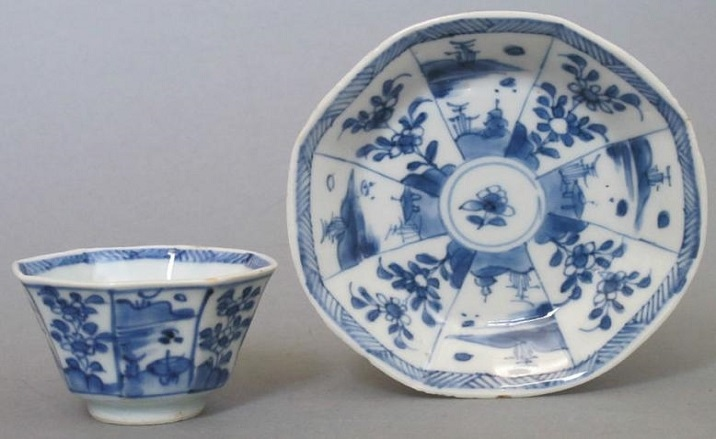 The ancient porcelain discovered in Yunnan Province