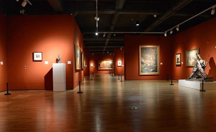 Ding Yi's solo exhibition opens in Chongqing