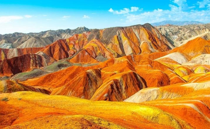 Tresors naturel Parc géologique de Zhangye Danxia