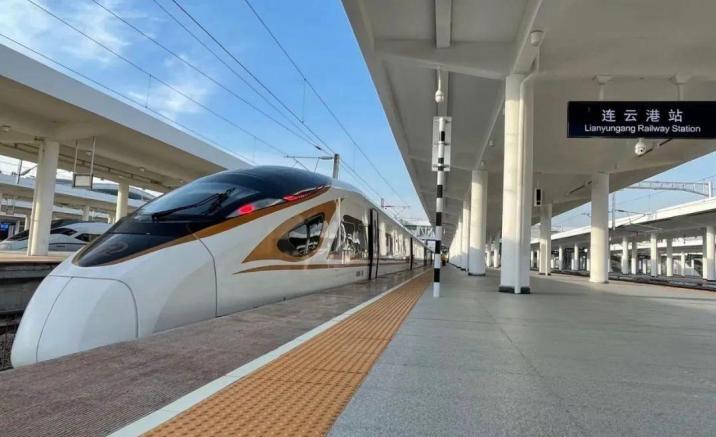 Xuzhou - Lianyungang high-speed railway route opens
