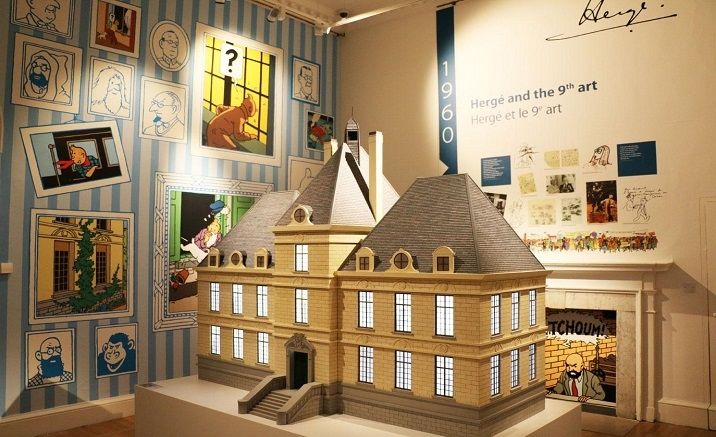 The Tintin theme exhibition opens in Shanghai