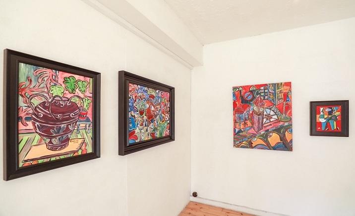 Ren Bonian painting exhibition opens in Beijing