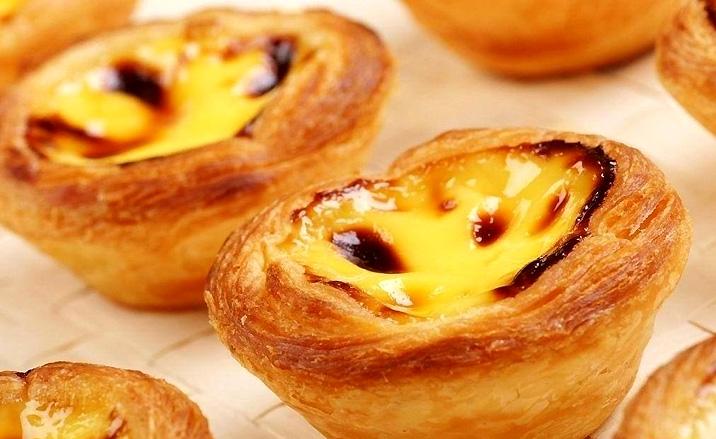 Tarte de Macanéen - Macao : ville de gastronomie