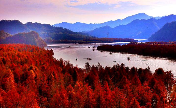 Parc national forestier de la Baie de Qinglong - Province de l'Anhui