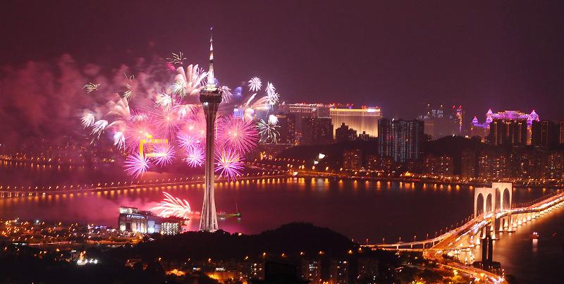 Macao : Festival de lumières pendant le mois de décembre 2017