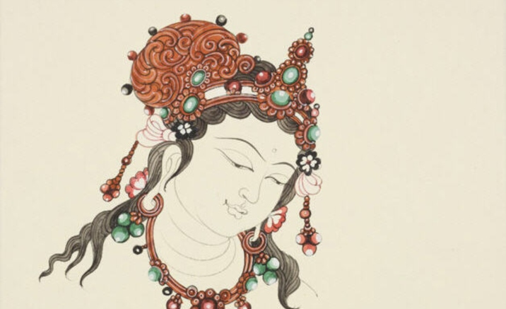 Dunhuang themed artworks