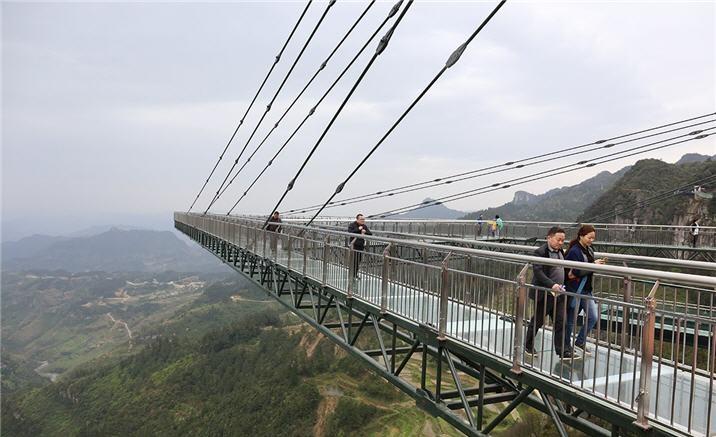 World's longest cantilever bridge