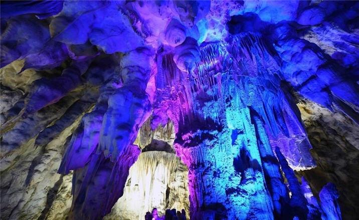 karst caves in Yunnan