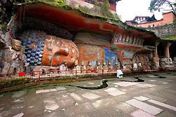 Sculptures religieuses de la colline Baoding -2
