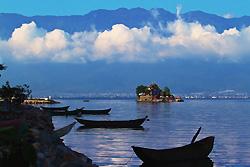 Lac Erhai de Dali