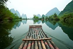 bateau sur la rivière Fuli