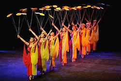 spectacle de l'acrobatie