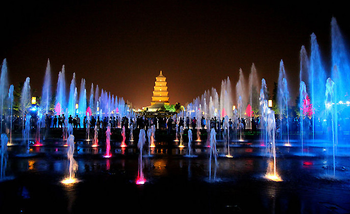 la fontaine musicale de la Grande pagode de l'Oie Sauvage -3